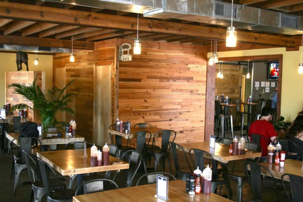 River-Recovered® Heart Pine Adds Southern Charm to Popular BBQ Restaurant 4