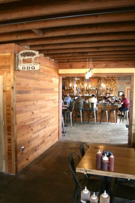 River-Recovered® Heart Pine Adds Southern Charm to Popular BBQ Restaurant 5
