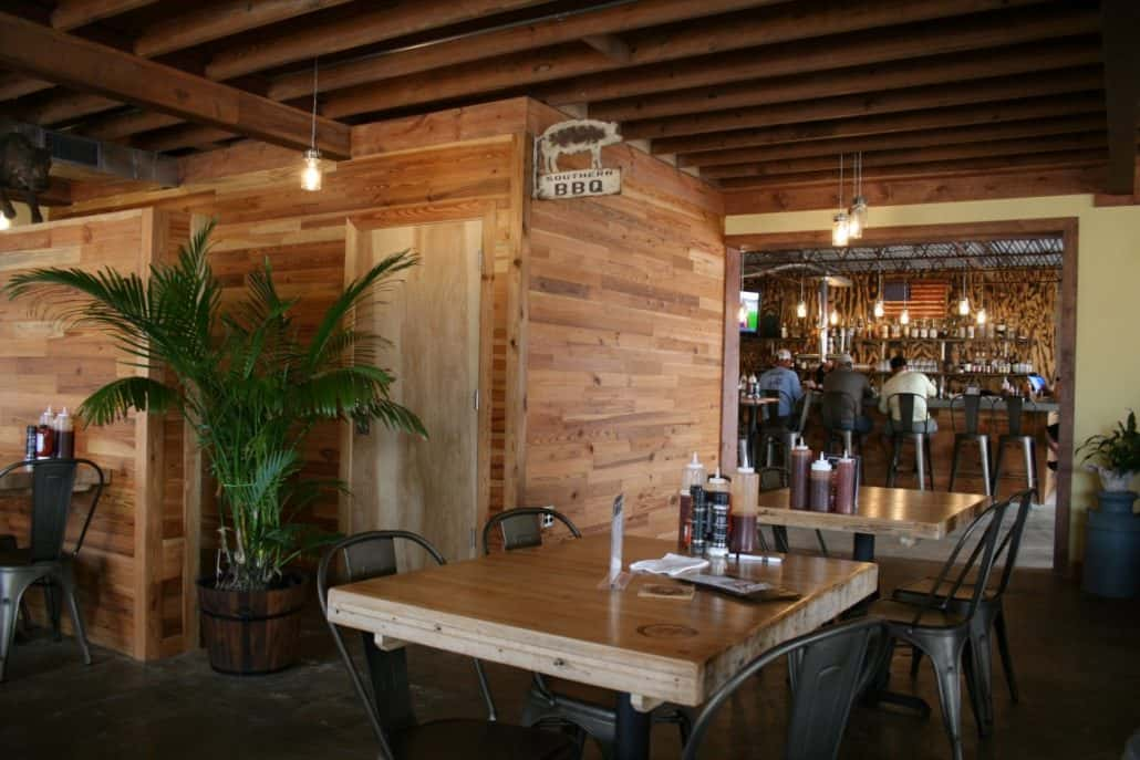 River-Recovered® Heart Pine Adds Southern Charm to Popular BBQ Restaurant 12