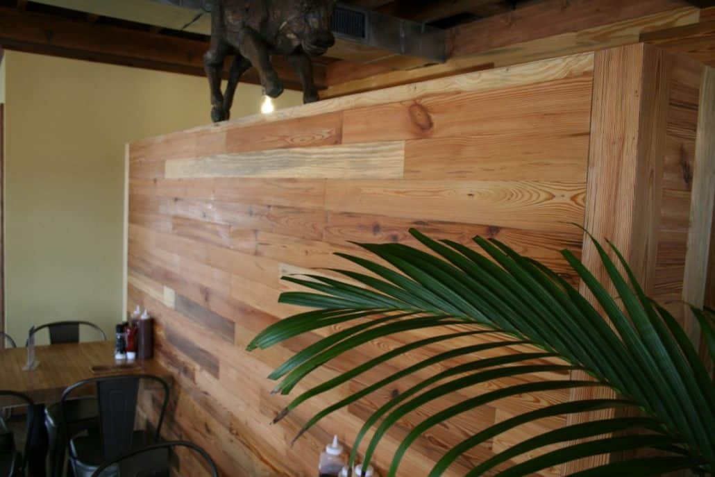River-Recovered® Heart Pine Adds Southern Charm to Popular BBQ Restaurant 6