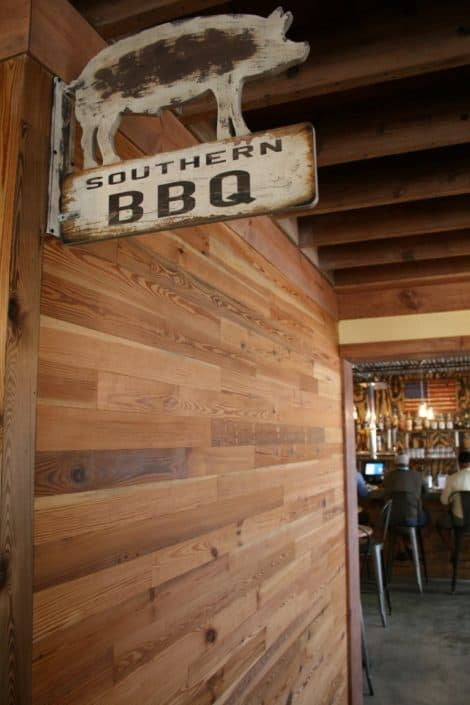 River-Recovered® Heart Pine Adds Southern Charm to Popular BBQ Restaurant 7
