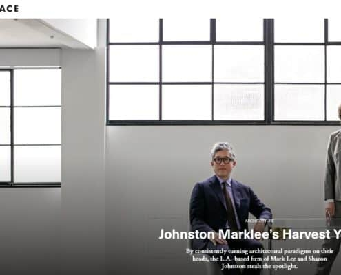 Johnston Marklee Featured in Surface