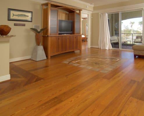 Wood Flooring Inlay