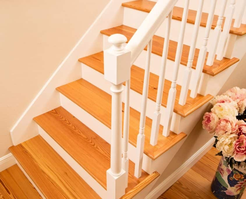 Wood Stairs and Flooring