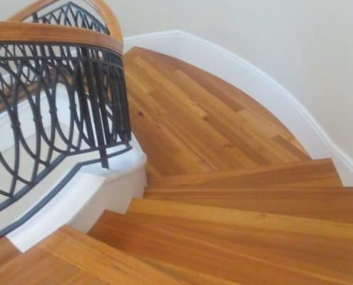 Wood Flooring and Stairs