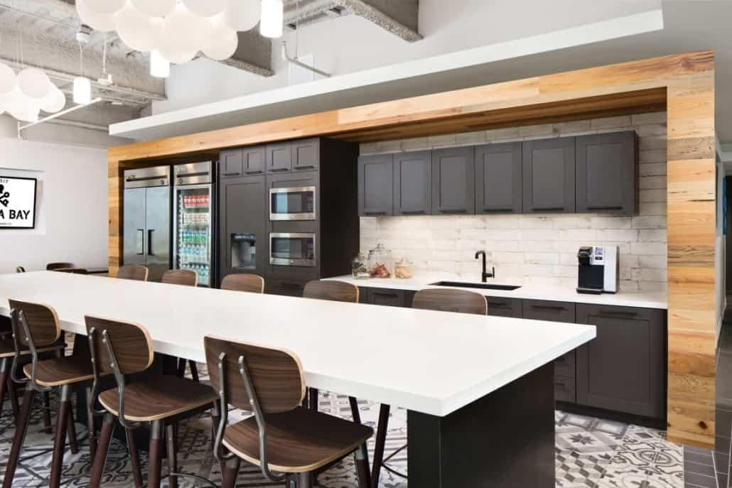 Contemporary Staff Kitchen