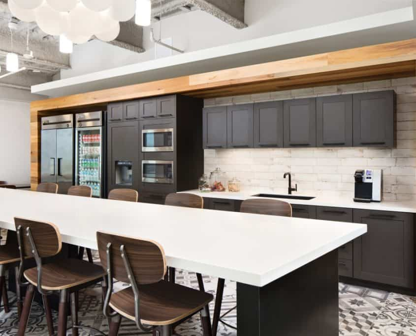 Contemporary Staff Kitchen