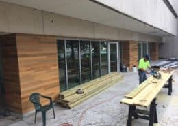 Heart Cypress Feature Walls and Paneling a Focal Point of University of South Florida's Coquina Club