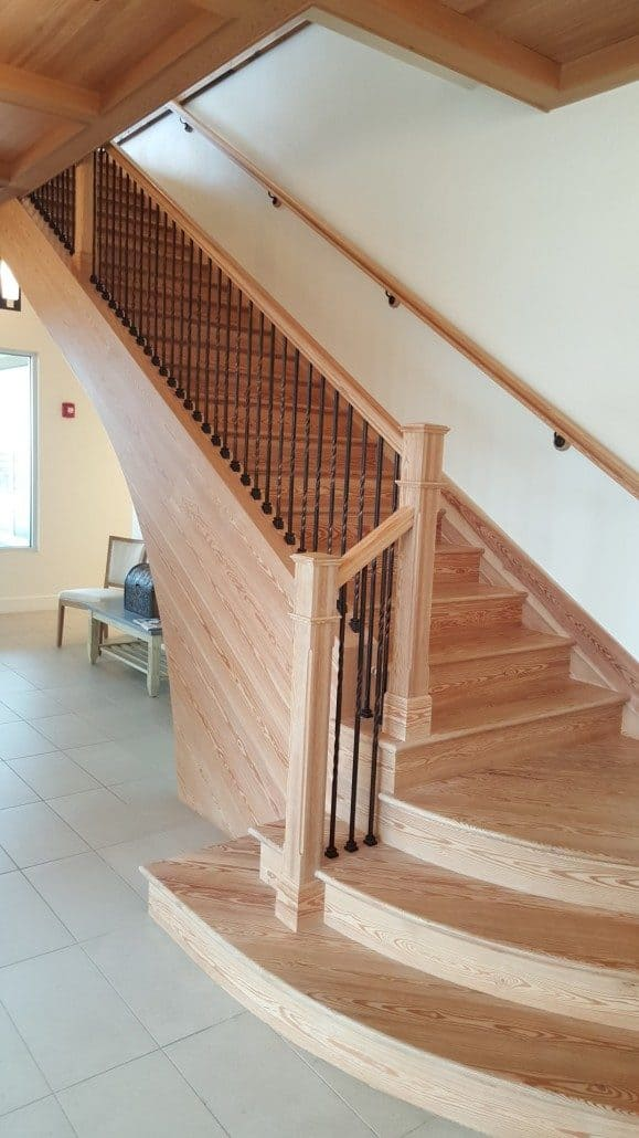 Reclaimed Wood Stairs, Stair Parts, Treads And Moldings U2013 The Sustainable  Design Choice ...