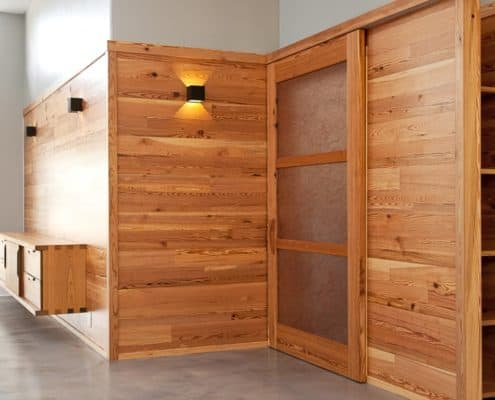 Wood Feature Walls