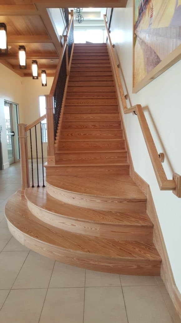 Reclaimed Wood Stairs, Stair Parts, Treads And Moldings U2013 The Sustainable  Design Choice