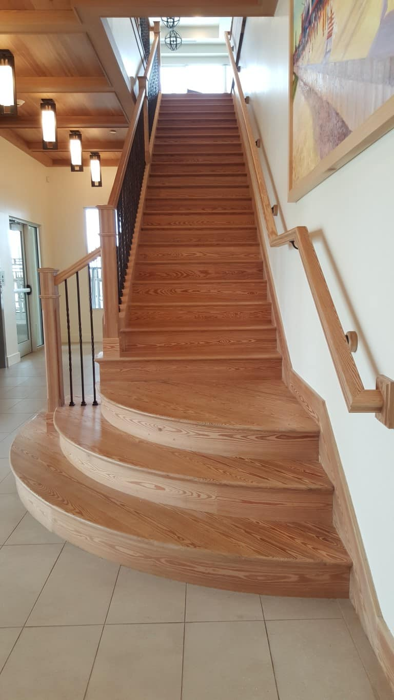Stairs To Success: Reclaimed Wood Stairs, Stair Parts, Treads And Moldings