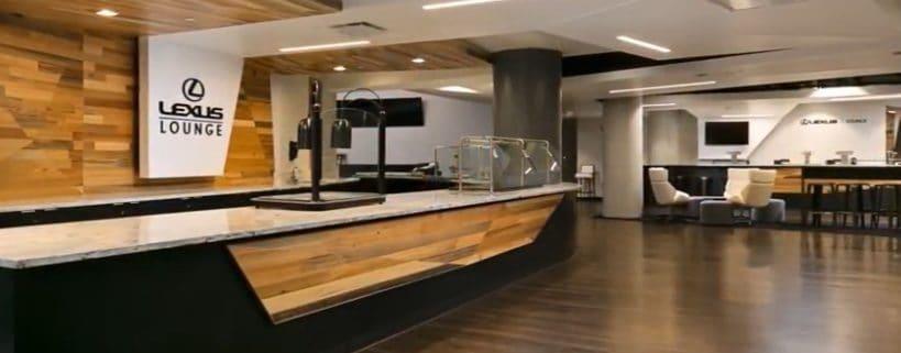Lexus Lounge at the Amalie Arena