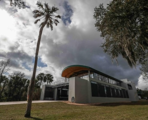 New Sandra Stetson Aquatic Center Features Contemporary Use of Antique Heart Cypress