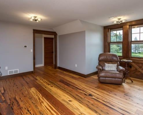 Building Reclaimed Heart Pine