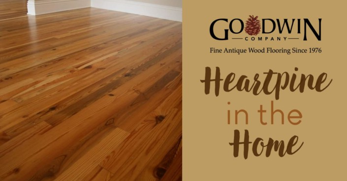 Legacy Character Heartpine flooring