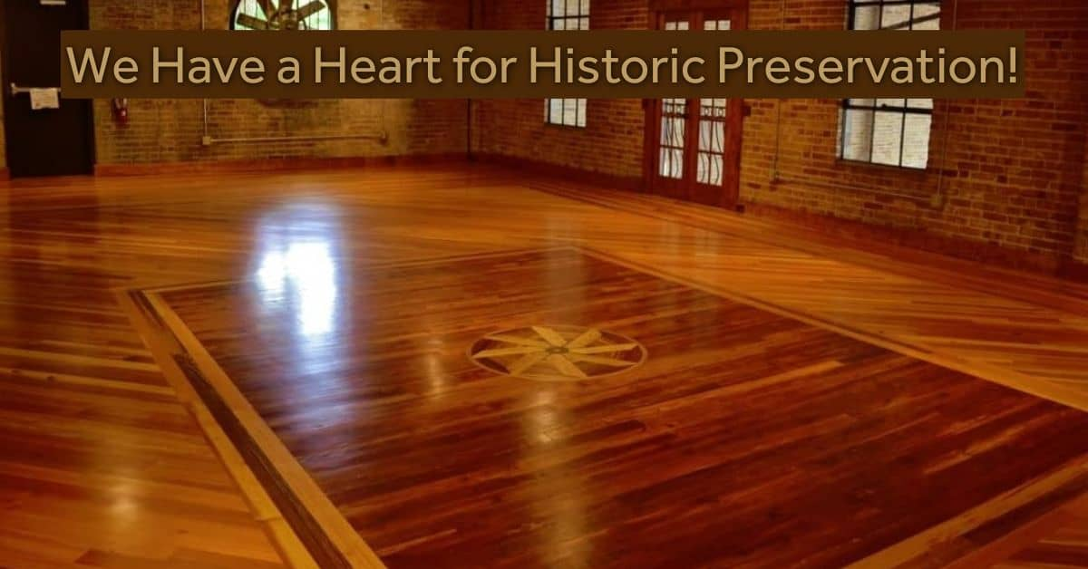 Historical Renovation Heart Pine Reclaimed Wood Floors 1