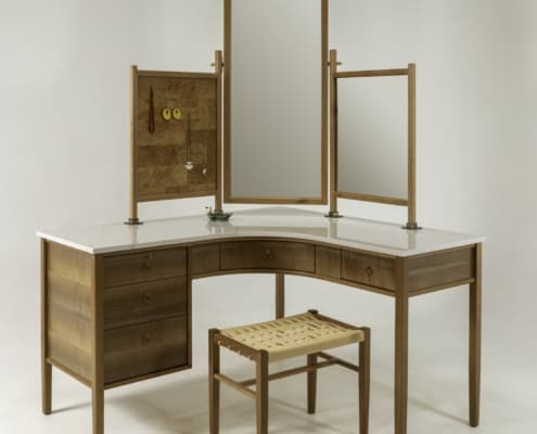 Wild Black Cherry Adds Style and Charm to Handcrafted Vanity