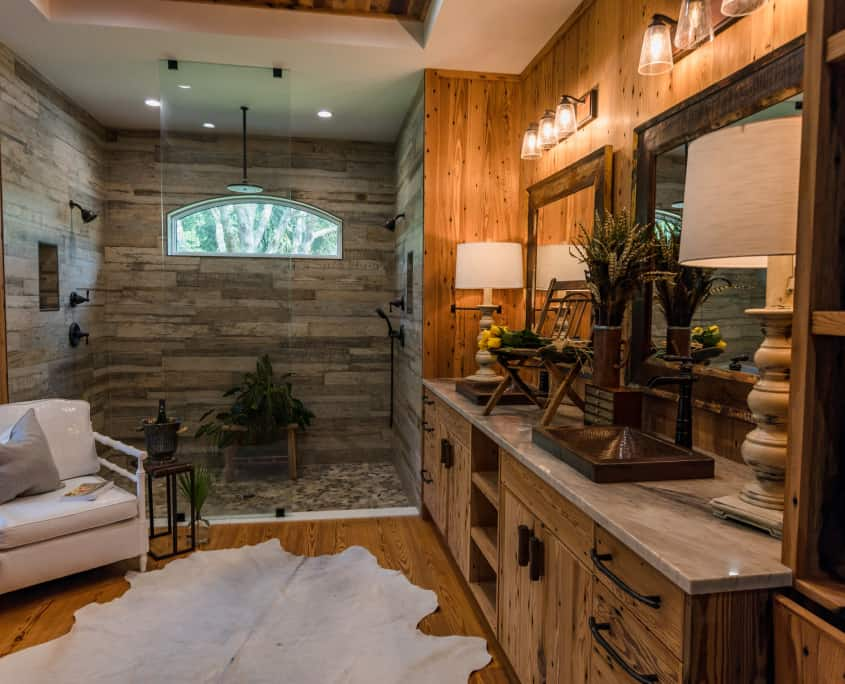 Exploring the Rustic Side of Heart Pine
