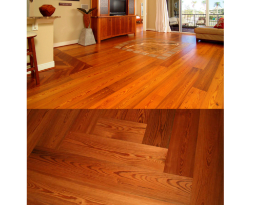 Album River-Recovered Precision Engineered Classic Antique Heart Pine