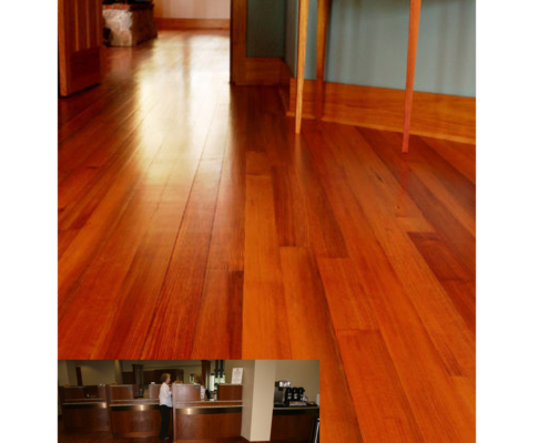 Album River-Recovered Precision Engineered Vertical Antique Heart Pine