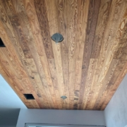 Ryland Wagner's Curly Heart Pine Ceiling 1